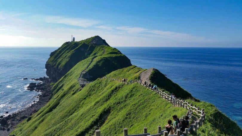 Cape Kamui Shakotan Peninsula Summer Sea Of Japan Blue Sky 2016 14