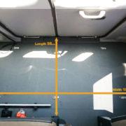 Coaster Cargo room
