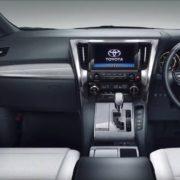 Toyota Alphard Interior