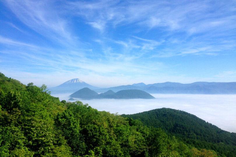 Lake Toya Usuzan Ropeway Promotional Image Summer